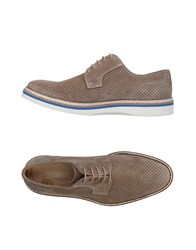 Gold Brothers Lace Up Shoes Beige