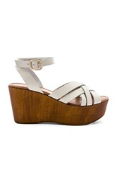 Seychelles High And Low Sandal White