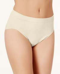Bali Comfort Revolution Microfiber High Cut Brief 303J Light Beige