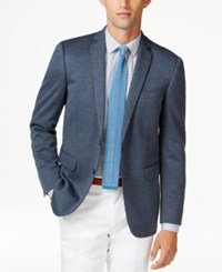 Bar Iii Men's Knit Slim Fit Sport Coat Only At Macy's Navy