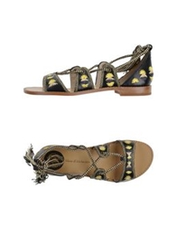 House Of Harlow 1960 Sandals Black