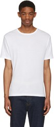 Blk Dnm White Classic Fitted Greaser 43 T Shirt