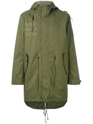 Adidas Quilted Parka Green