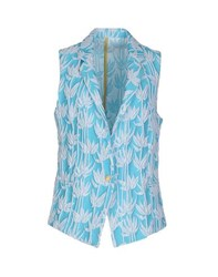 Femme By Michele Rossi Suits And Jackets Blazers Women Turquoise