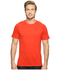 Smartwool Merino 150 Baselayer Short Sleeve Fire Red Men's T Shirt