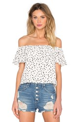 Wyldr Indie Summer Frill Top Ivory