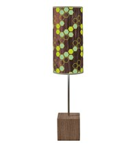 Jefdesigns Hex Cuboid Table Lamp Green