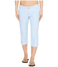 Columbia Solar Fade Capri Pants Harbor Blue Women's Capri