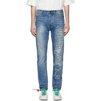 Palm Angels Blue Indaco Jeans