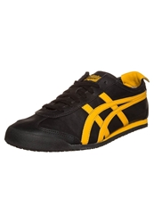 Onitsuka Tiger By Asics Onitsuka Tiger Mexico 66 Trainers Black Gold Fusion