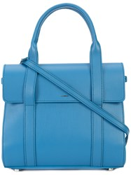 Shinola Satchel Tote Bag Blue