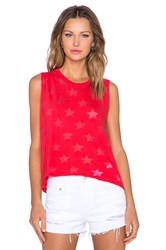 Nation Ltd. Crescent Heights Star Tank Red