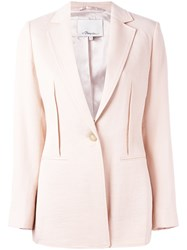 3.1 Phillip Lim Single Breasted Blazer Pink Purple