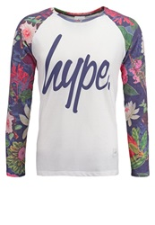 Hype Long Sleeved Top Multi Multicoloured