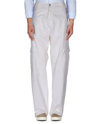 Roy Rogers Roy Roger's Trousers Casual Trousers Men White