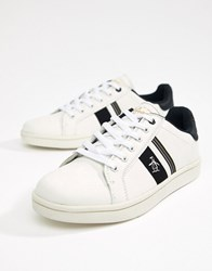 Original Penguin Steadman Retro Trainer In White