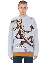 Calvin Klein 205W39nyc Looney Tunes Wool Sweater Blue