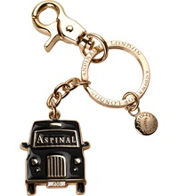 Aspinal Of London London Taxi Keyring Black