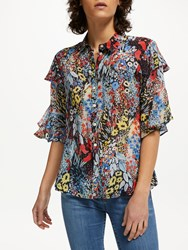 Lily And Lionel Frankie Poppy Field Shirt Multi