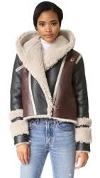 Veda Hilda Shearling Jacket Multi