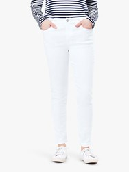 Joules Monroe Skinny Stretch Jeans Bright White
