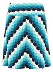 King Louie Frisky Mini Skirt Dragonfly Green Turquoise