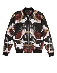 Religion Bane Bomber Jacket With All Over Print