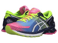 Asics Gel Kinsei 6 Hot Pink White Flash Yellow 1 Women's Running Shoes Multi