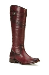 Frye Molly Knee High Boot Red