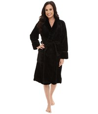 P.J. Salvage Waffle Robe Black Women's Robe