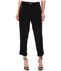 Calvin Klein Tab Cuff Pants Black Women's Casual Pants