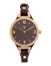 Tous Timepieces Wrist Watches Women Dark Brown