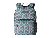 Vera Bradley Lighten Up Just Right Backpack Nomadic Blossoms Backpack Bags Green