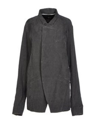 Lost And Found Lost And Found Full Length Jackets Steel Grey