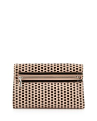 Elizabeth And James Cynnie Polka Dot Convertible Clutch Bag Champagne