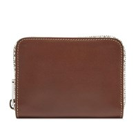 A.P.C. Dallas Zip Wallet Brown