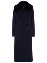 Planet Long Coat Navy