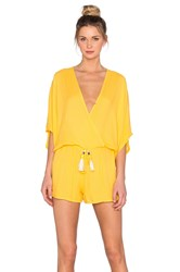 Young Fabulous And Broke Ashley Romper Yellow