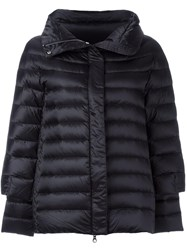 Hetrego Zip Up Padded Coat Black