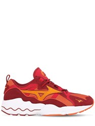 Mizuno Wave Rider 1S Sneakers Red