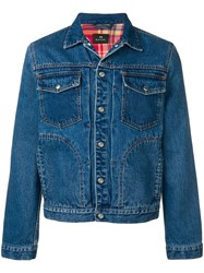Paul Smith Ps By Denim Jacket Blue