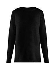 Raey Loose Fit Cashmere Sweater Black