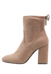 Primadonna Collection High Heeled Ankle Boots Taupe