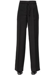 Veronique Branquinho Palazzo Wool Blend Pants