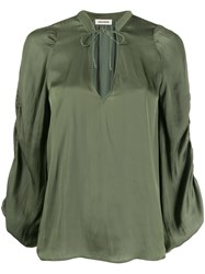 Zadig And Voltaire Twenty Loose Fit Blouse 60