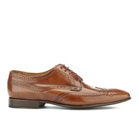 Paul Smith Shoes Men's Aldrich High Shine Leather Brogues Tan Hobar