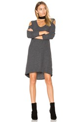 Nation Ltd. Gwen Cold Shoulder Dress Charcoal