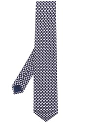 Salvatore Ferragamo Patterned Tie Blue