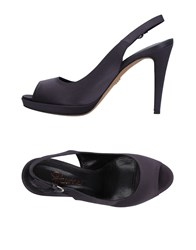 Eva Turner Sandals Dark Blue