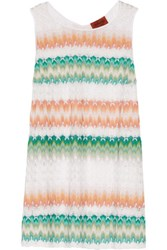 Missoni Crochet Knit Top Multi